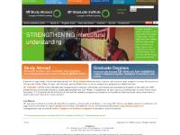 SIT Graduate Institute, International Development, International Exchange, Where We Work