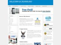 Welcome to Solutions in Technology Ltd