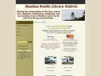 siuslawlibrary.org Public Library, Florence, Mapleton