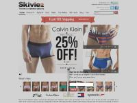 Mens Underwear from Skiviez, The Men's Underwear Authority - Briefs, Boxers, Jocks, Thongs, T-Shirts, and more! | Skiviez | The Men's Underwear Authority