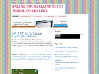 skooltocollege.blogspot.com MP PET 2011, MP PET 2011 Results, MP PET 2011 Online Counseling