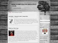 skrewdriver.info Skrewdriver, Ian S