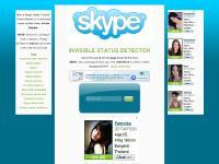 SKYPE status, skype online, skype invisible, skype detect, scanner, checker, tracer