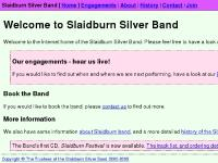 Welcome :: Slaidburn Silver Band