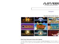 ONLINE SLOT GAMES | SLOTSEEK