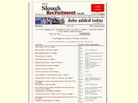 sloughrecruitment.co.uk slough jobs and recruitment, jobs in slough, job adverts