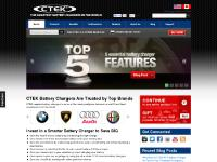 CTEK Battery Chargers - The World's Smarter Battery Charger