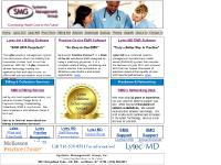 smgsystems.com medical billing, EMR, EHR