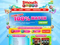 smoochbingo.co.uk Bingo, Online Bingo, Bingo Online