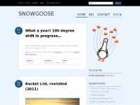 Snowgoose | Heidi Schneigansz | Speaker. Blogger. Poultry.
