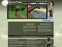 SocioTown - Virtual Game World, Play for Free, Browser Game