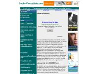 socks5proxylists.com Socks 4 5 Proxy Lists, How to setup sock 4 5 proxy, Buy Sell Socks Proxy Lists