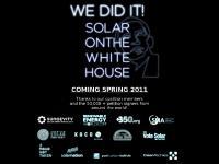 Solar on the White House