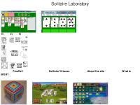 Solitaire Laboratory