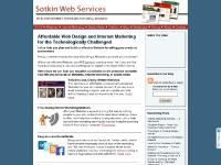 Affordable Websites, Internet Marketing, & Website Consulting: Sotkin Web Services