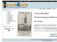 sound4sale - the online pro-audio marketplace
