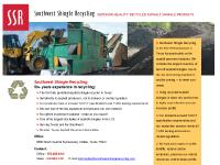 Southwest Shingle Recycling