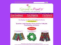 SpankiePants Spandex Shorts $17.95 Spandex Spankies Volleyball Shorts and Cheerleading Shorts with Colorful Patterns