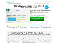 Download Accelerator Plus (DAP) - Free Download Manager & Video Downloader