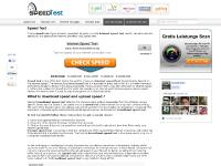 Speed Test - Internet Broadband Online Bandwidth Check SpeedTest