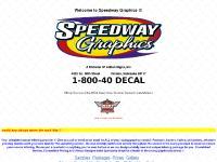 speedwaygraphics.com Racecar Lettering, Racecar Graphics, Racing Graphics