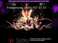 Wedding fireworks - Fireworks displays - Professional Firework company - Midlands Birmingham Coventry Rugby Solihull - Spitfire Pyrotechnics
