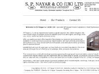 S P NAYAR - Wholesale Hosiery Suppliers