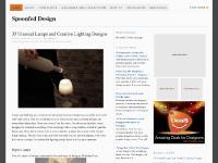 spoonfeddesign.com design, blog, graphic