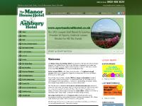 sportandcrafthotels.co.uk Hotels, Ashbury Hotel, Manor House Hotel