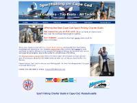 Cape Cod Fishing Charters | RI Striper, Tuna, Cod Deep Sea Charter Boats | Cape Cod, Massachusetts | Block Island, Rhode Island