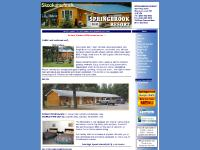 Kootenay Rockies Motel and Cabins Springbrook Resort in Skookumchuck, British Columbia