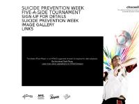 Suicide Prevention Week – 5-a-side Tournament – Scotland