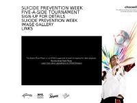 Suicide Prevention Week – 5-a-side Tournament – Scotland
