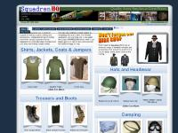 Squadron HQ Limited - Quality Army Surplus & Hats