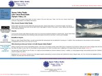 Lake Tahoe Real Estate - Squaw Valley Real Estate - Squaw Valley Realty