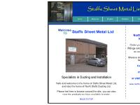 Sheet metal and ductwork manufacturing and installation by Staffs Sheet Metal Ltd