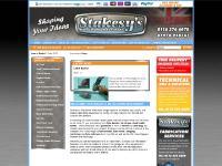 stakesys.co.uk bandsaw, hand shear, sheet metal tools