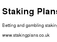 Staking Plans