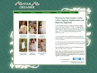 Ladies Cotton Nighties, Nightdresses and Nightgowns | StarDreamer