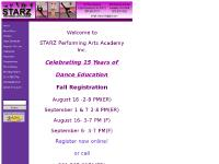 Starz Performing Arts Academy - Home
