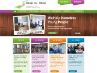 stepbystep.org.uk Homeless Charity, Charity Donations, Step by Step