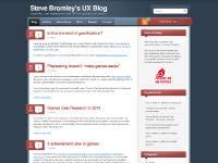 Steve Bromley's UX Blog