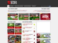 sticksports.com Games, Fan Challenges, High Scores