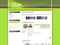 Calendário STM, Arquivo, Contactos, Início