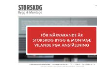 statistik för storskog - Storskog Bygg & Montage - renovering och nybyggen i Stockholm