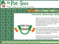 StPat-Tees.Com: Irish and St. Patrick's Day T-Shirts Home Page