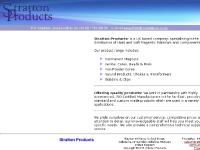 Stratton Products:- Home Page - Magnets - Ferrites - Cores - Bobbins - Transformers
