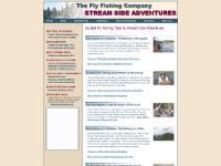 Seminars, Feature Articles, Fly Fishing Slideshows, Missouri