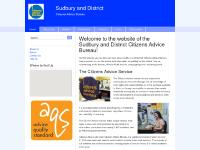 Welcome to the website of the Sudbury and District Citizens Advice Bureau!
