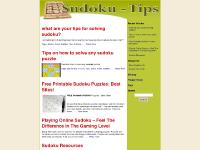 how to solve sudoku, how to play sudoku, sudoku strategy, puzzles